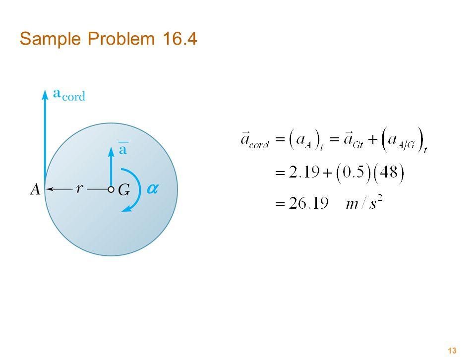 Sample Problem 16.4