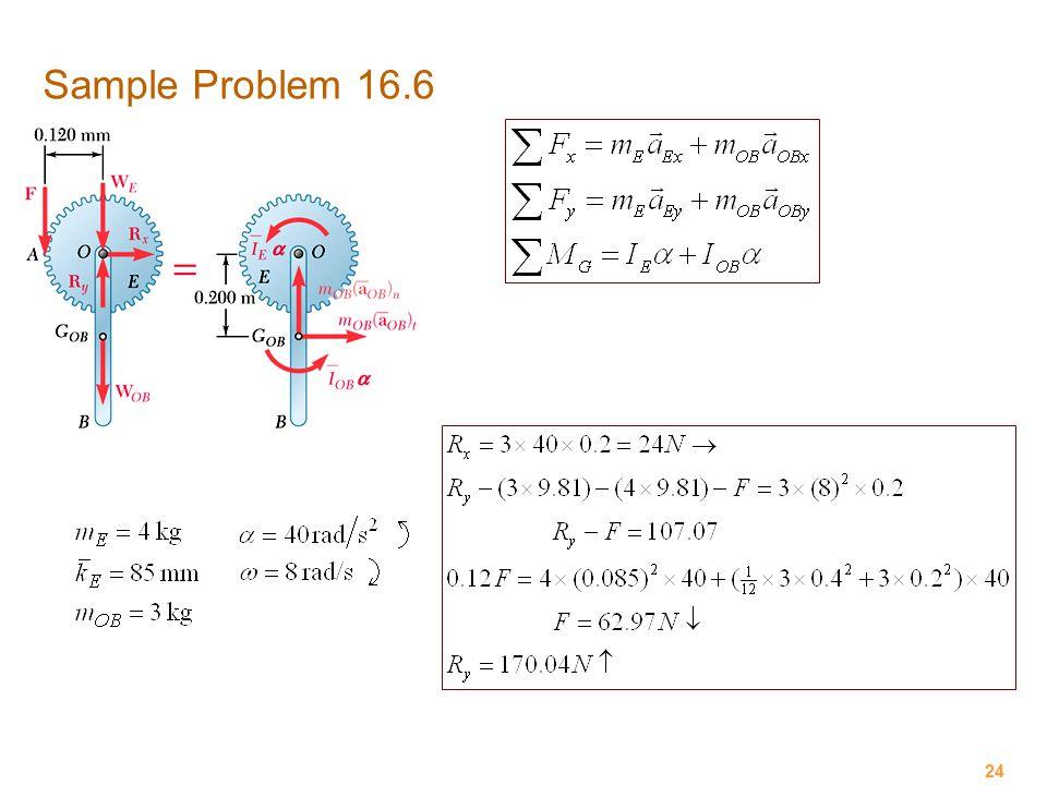Sample Problem 16.6