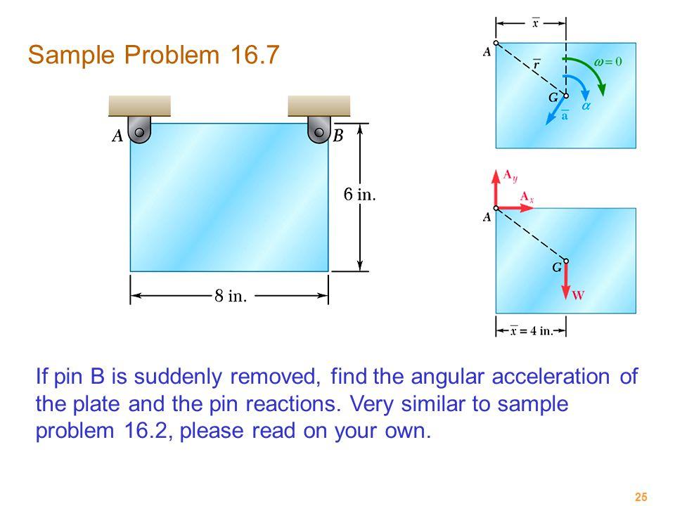 Sample Problem 16.7