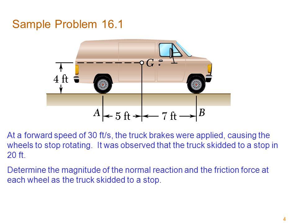 Sample Problem 16.1