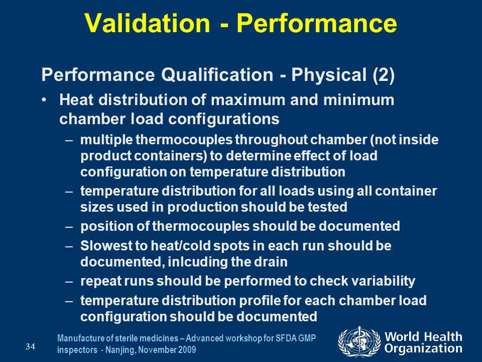 Validation - Performance