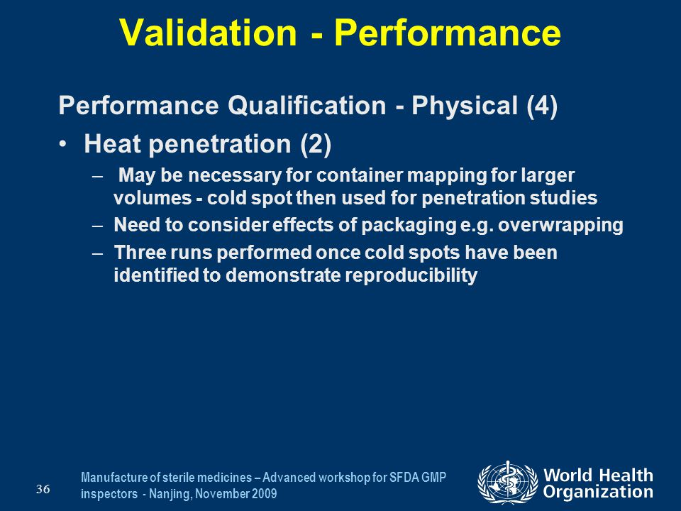 Validation - Performance
