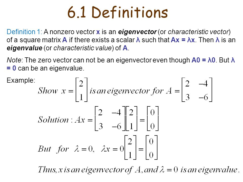 6.1 Definitions
