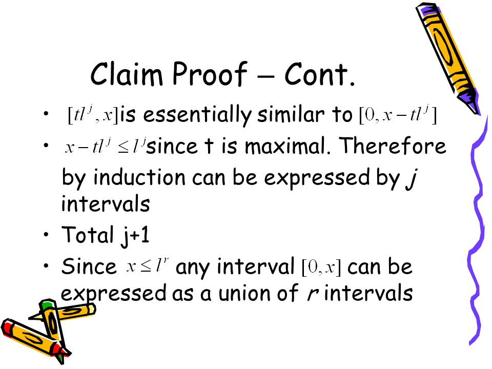 Claim Proof – Cont. is essentially similar to