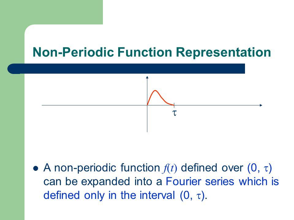 Non-Periodic Function Representation