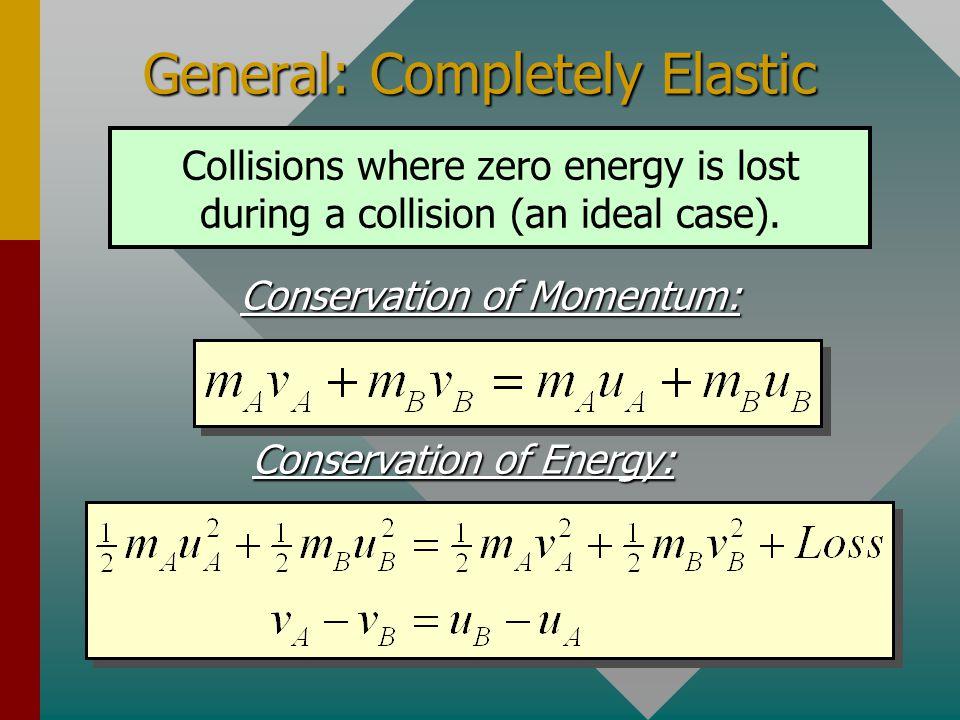 General: Completely Elastic