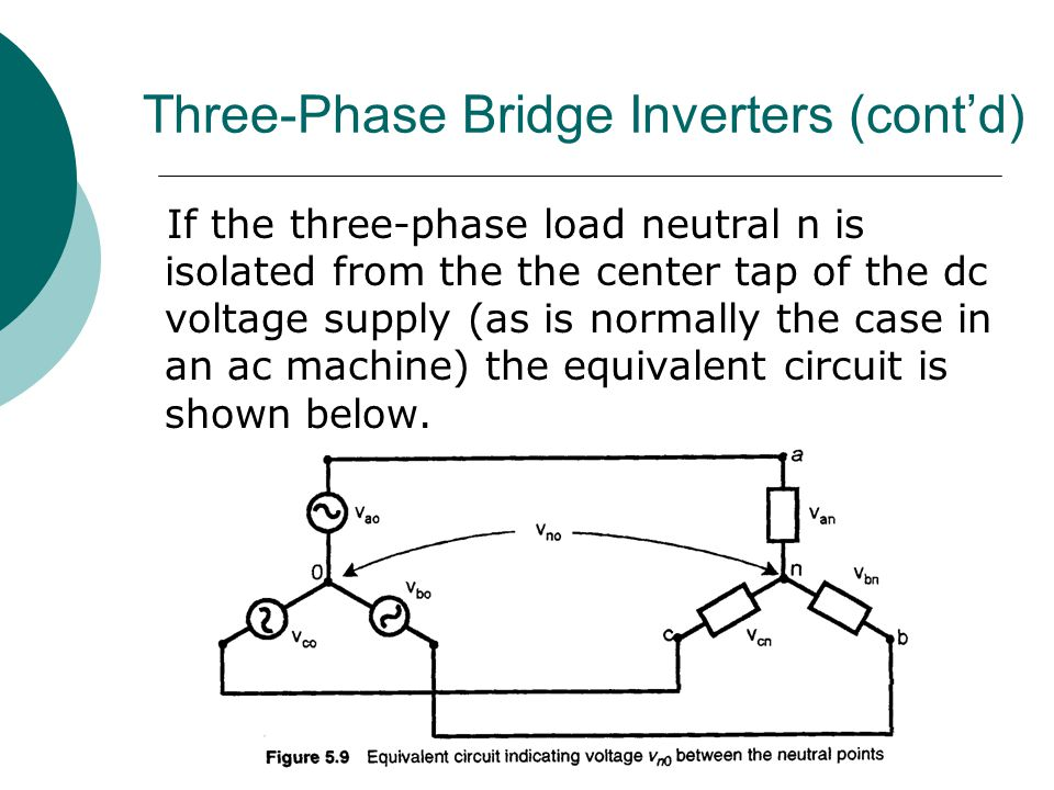 Three-Phase Bridge Inverters (cont'd)