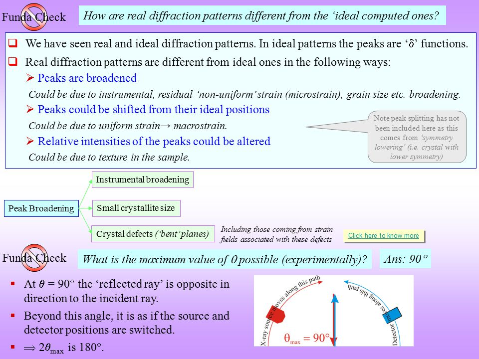 What is the maximum value of  possible (experimentally) Ans: 90