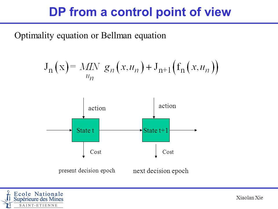 DP from a control point of view