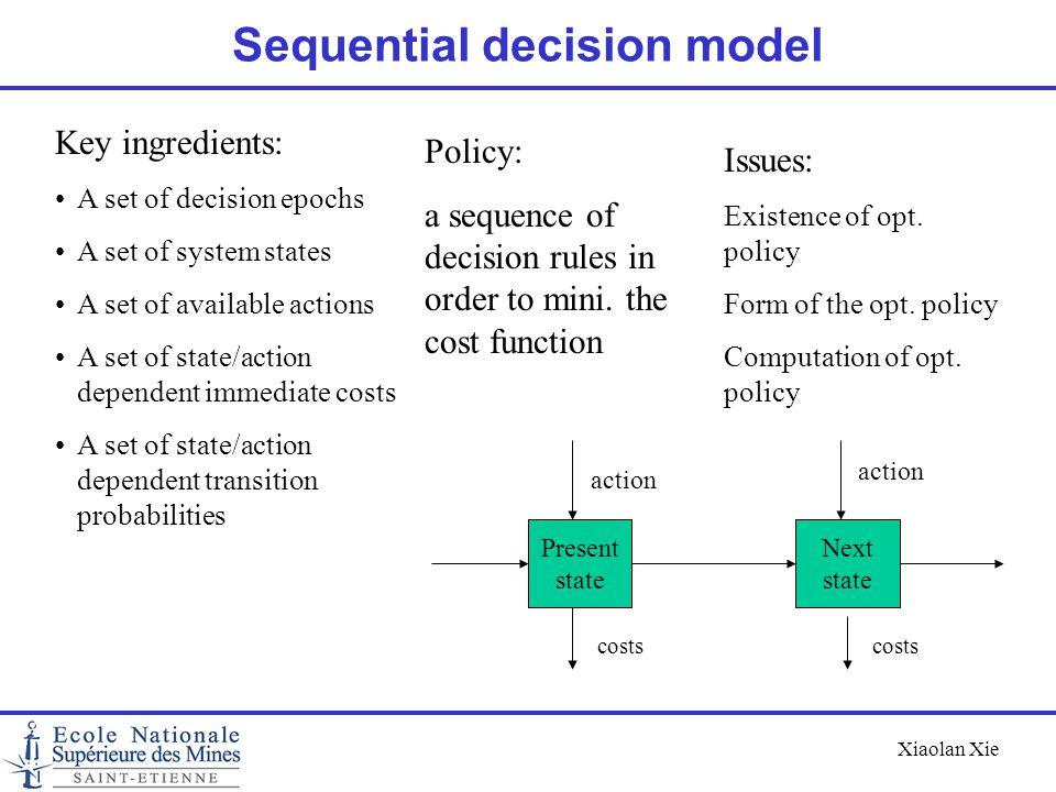 Sequential decision model