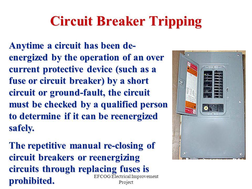 Circuit Breaker Tripping