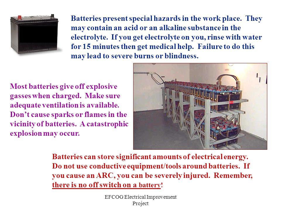 EFCOG Electrical Improvement Project