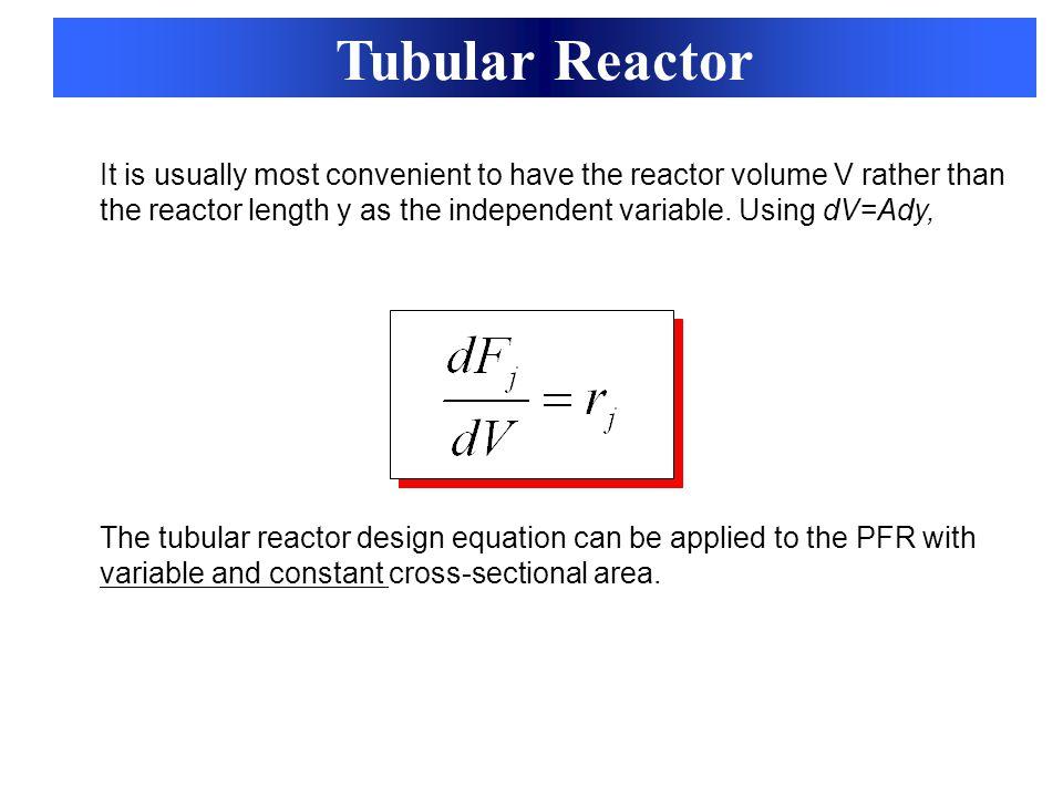 Tubular Reactor
