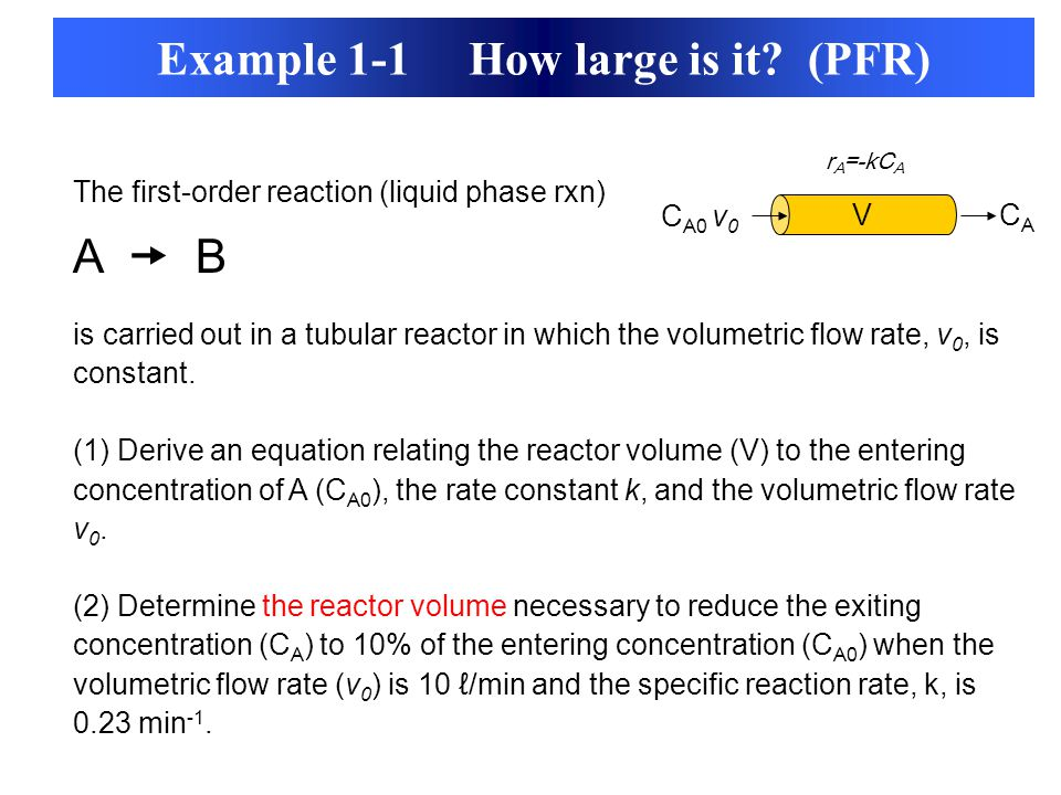 Example 1-1 How large is it (PFR)