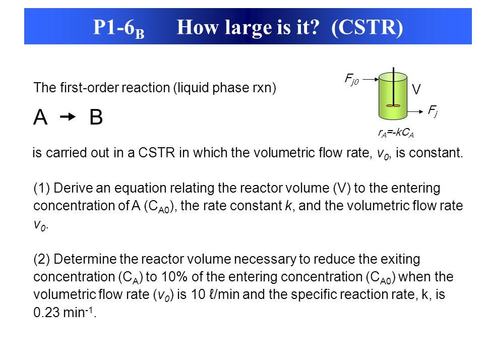 P1-6B How large is it (CSTR)