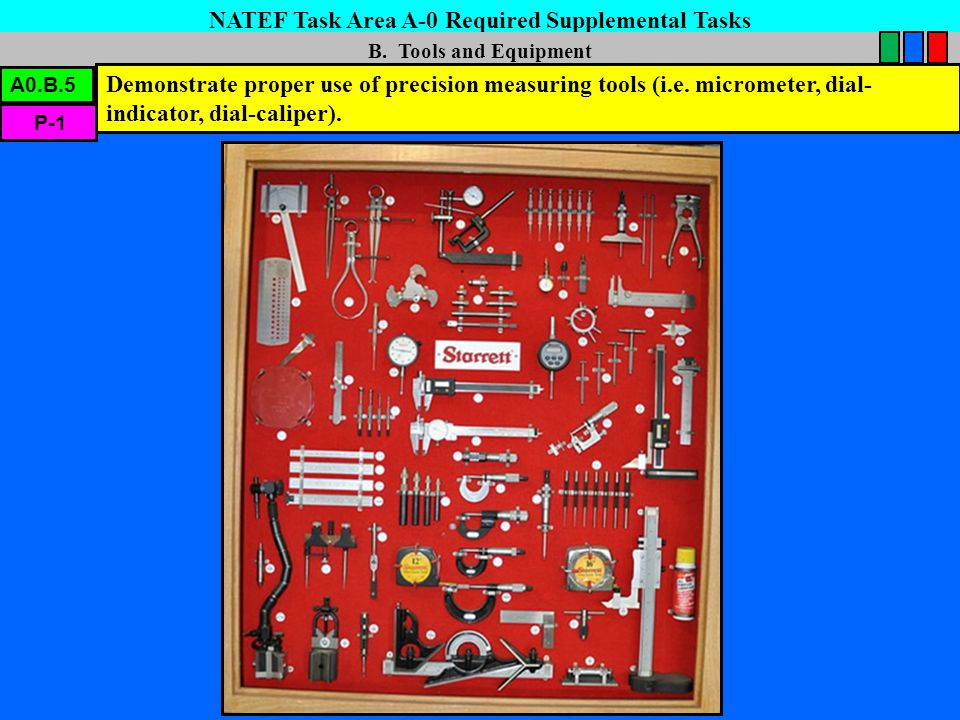 NATEF Task Area A-0 Required Supplemental Tasks