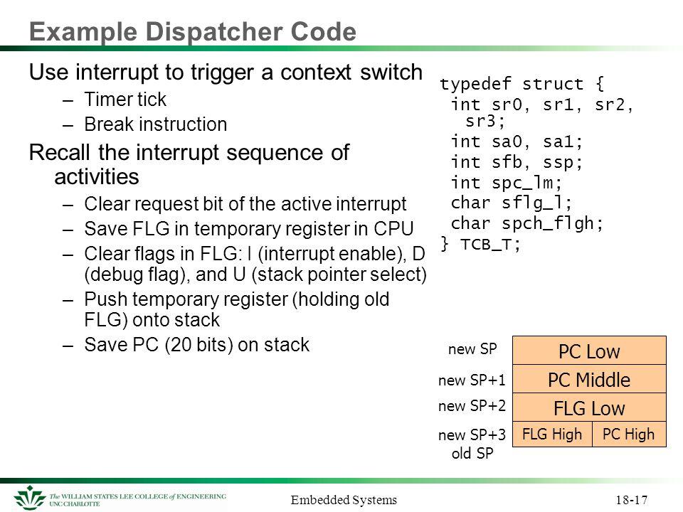 Example Dispatcher Code
