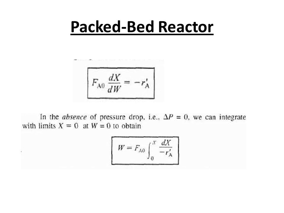 Packed-Bed Reactor