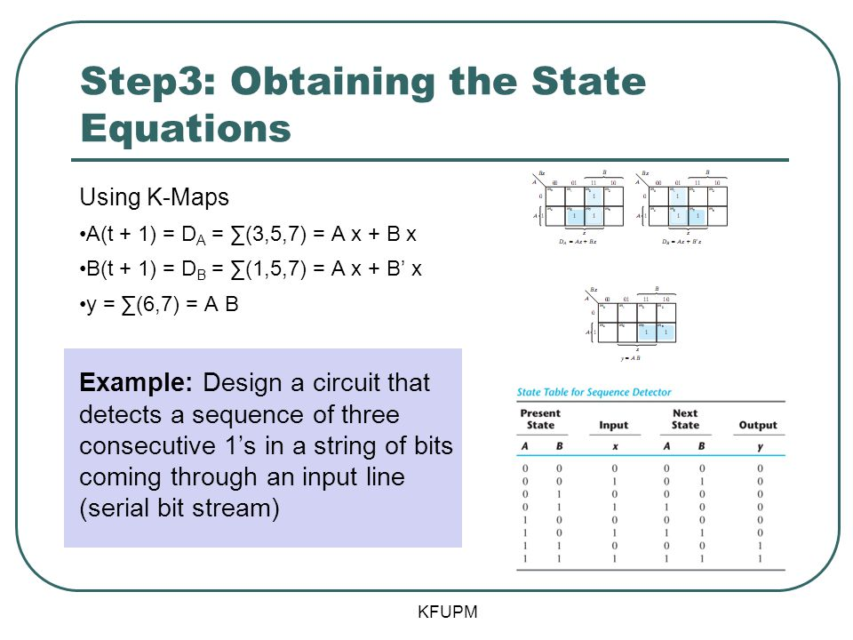 Step3: Obtaining the State Equations