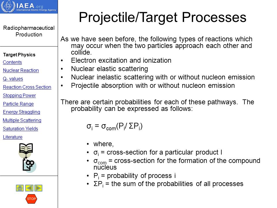 Projectile/Target Processes