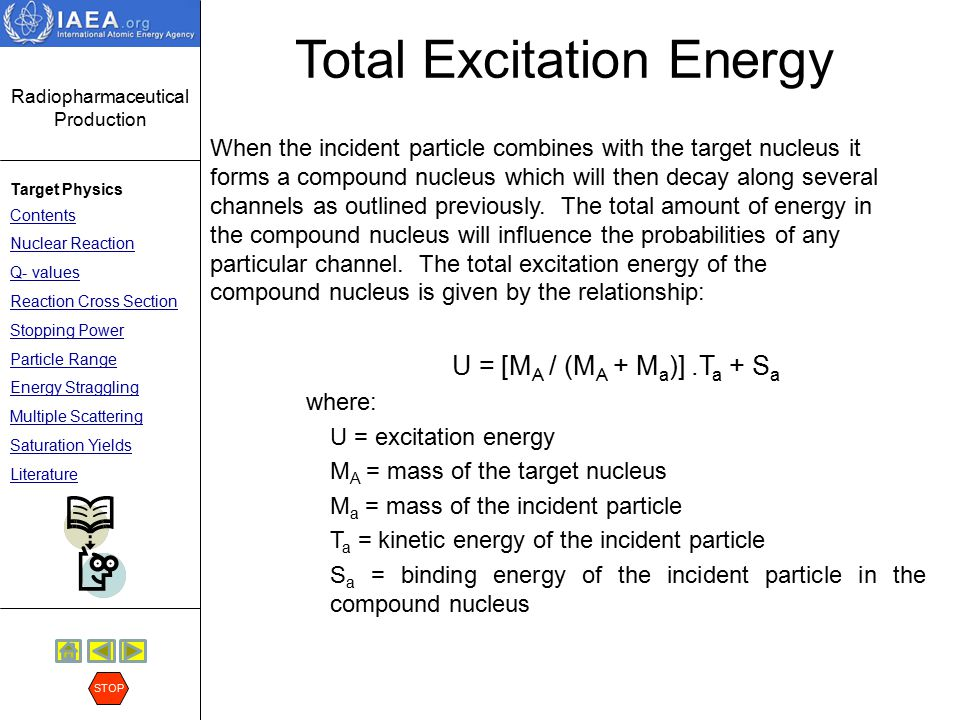 Total Excitation Energy
