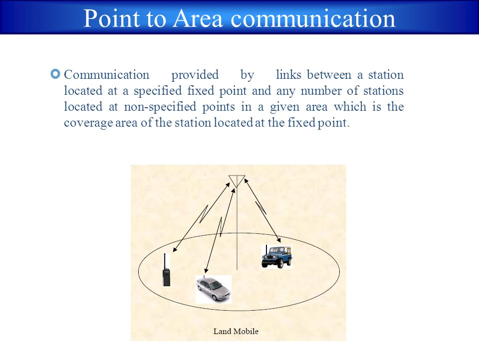 Point to Area communication