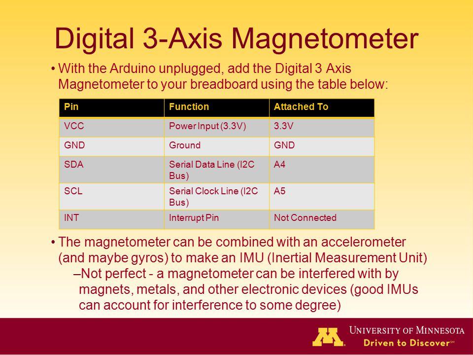 Digital 3-Axis Magnetometer