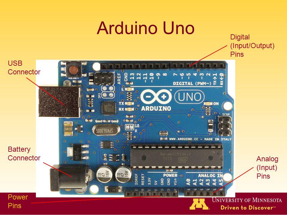 Arduino Uno Digital (Input/Output) Pins USB Connector