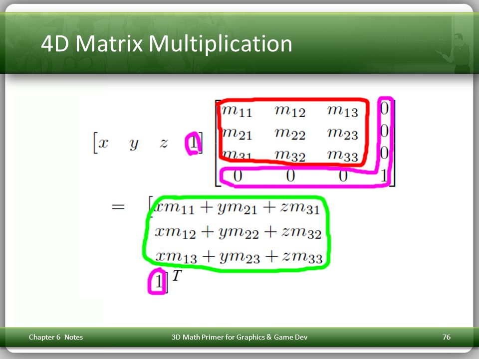 4D Matrix Multiplication