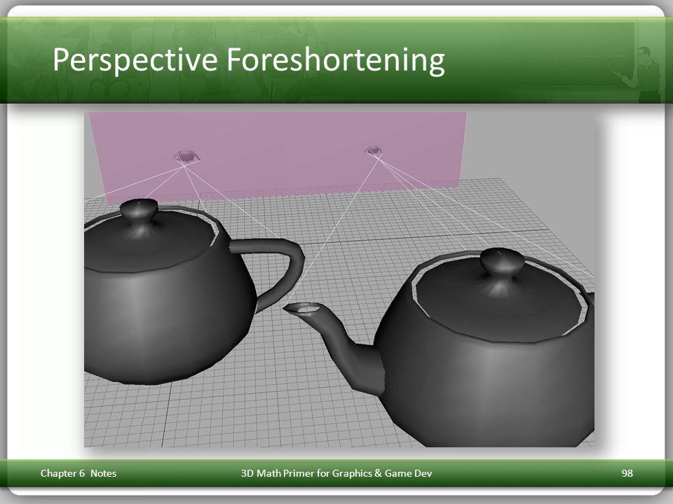 Perspective Foreshortening