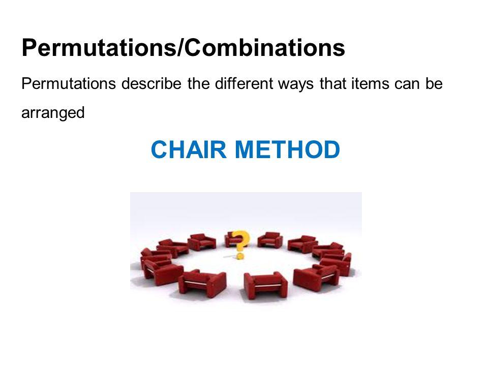 Permutations/Combinations