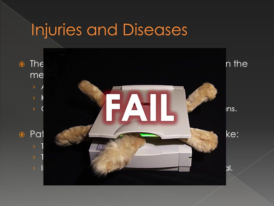 FAIL Injuries and Diseases