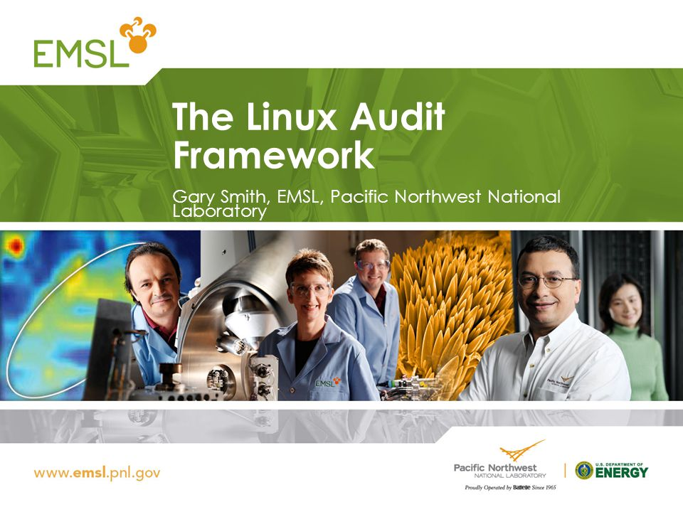 The Linux Audit Framework