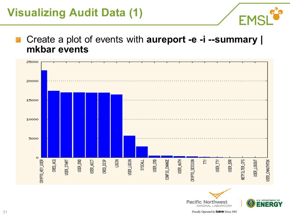 Visualizing Audit Data (1)
