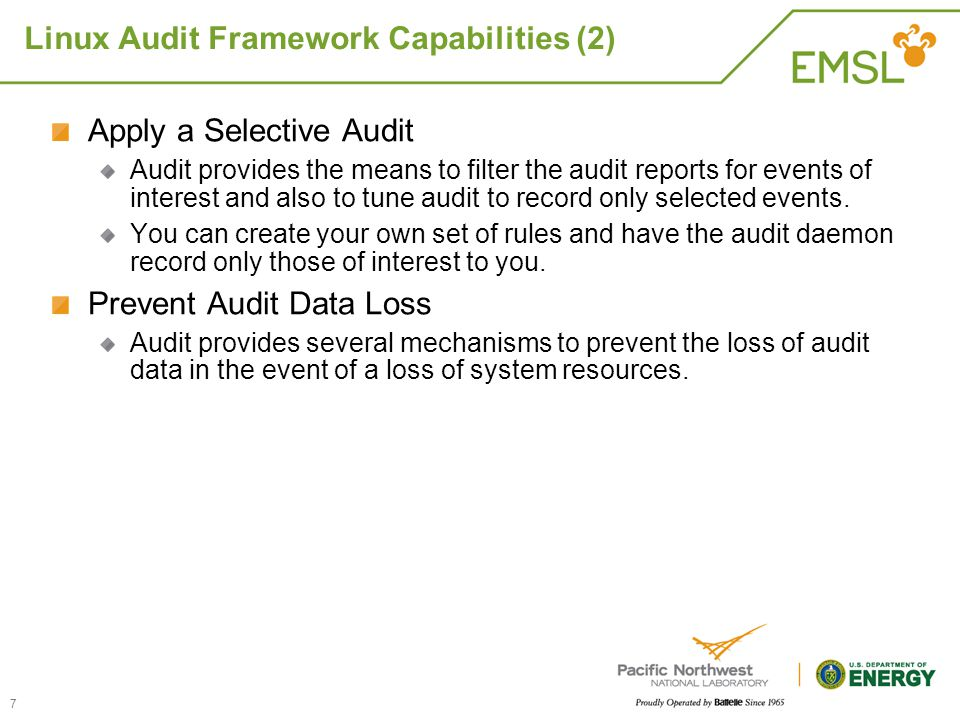 Linux Audit Framework Capabilities (2)