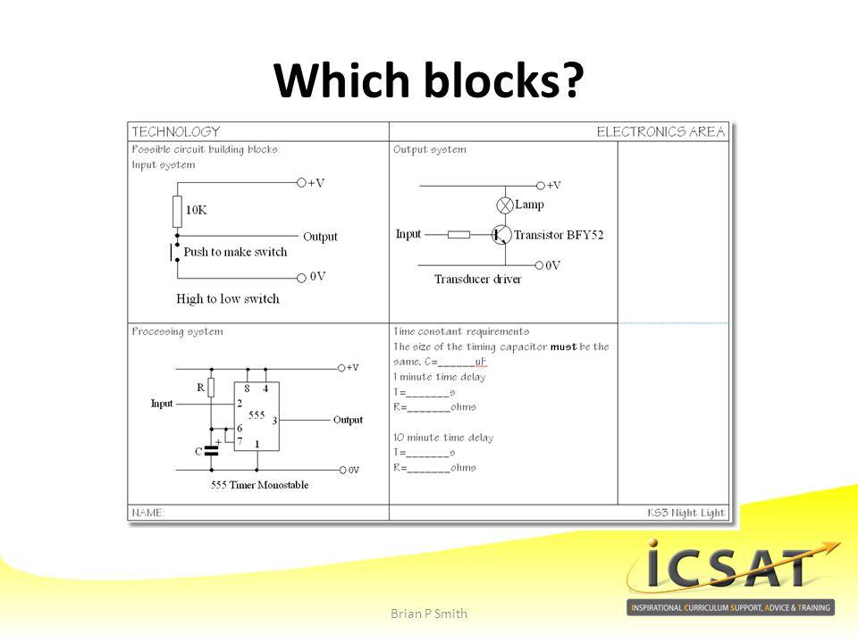Which blocks Brian P Smith