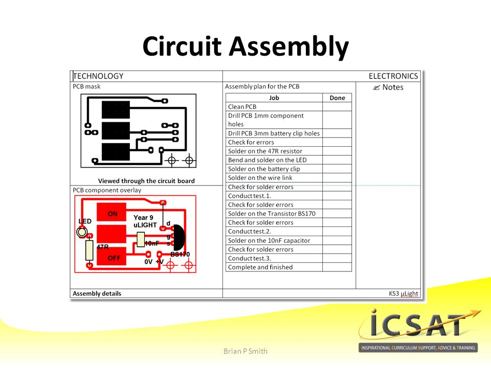 Circuit Assembly Brian P Smith