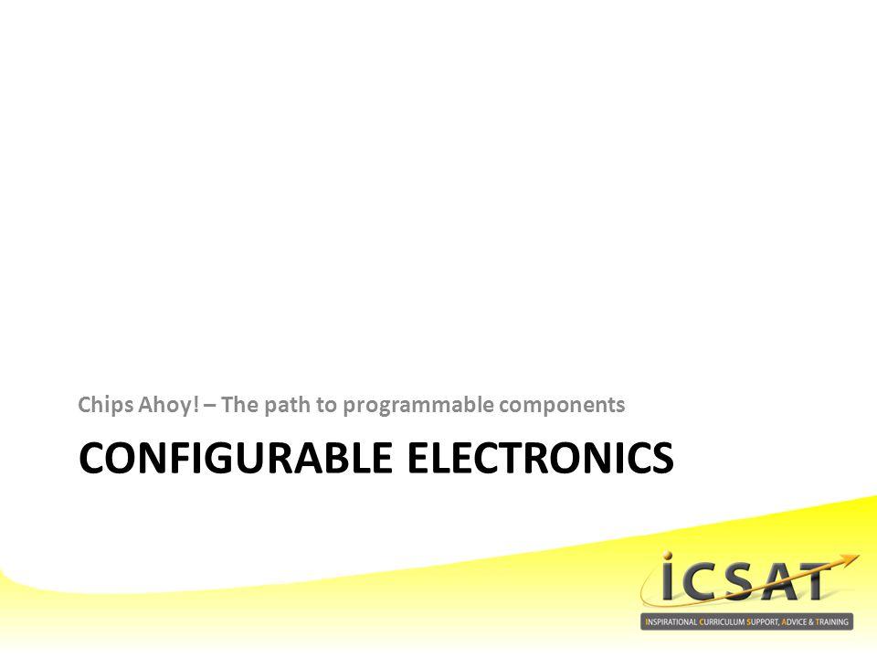 Configurable electronics