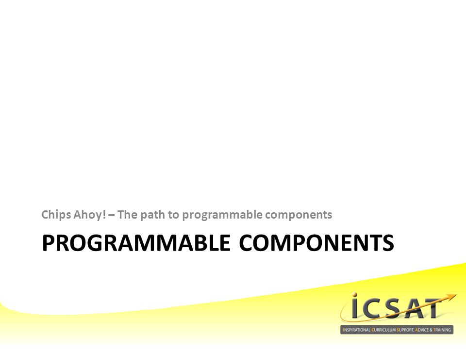 Programmable components