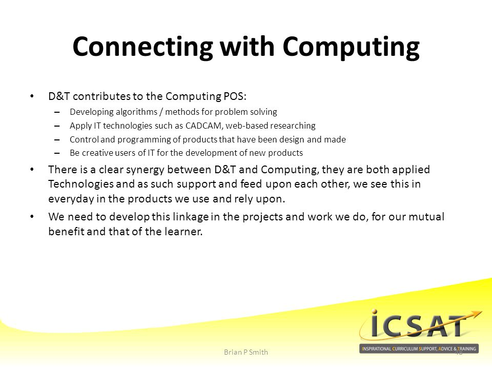Connecting with Computing