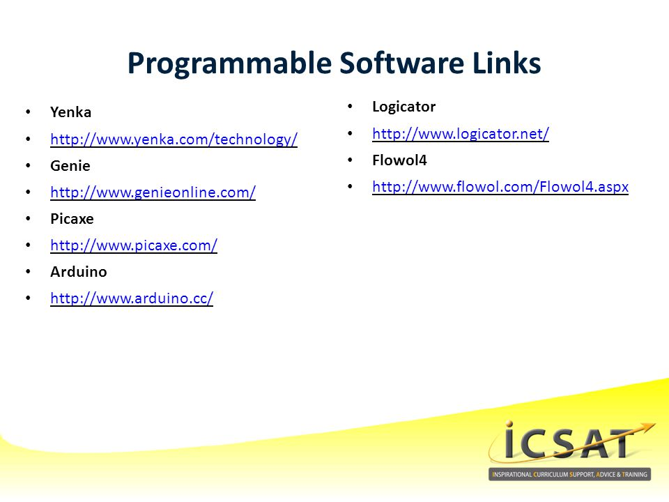 Programmable Software Links