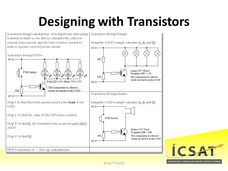 Designing with Transistors