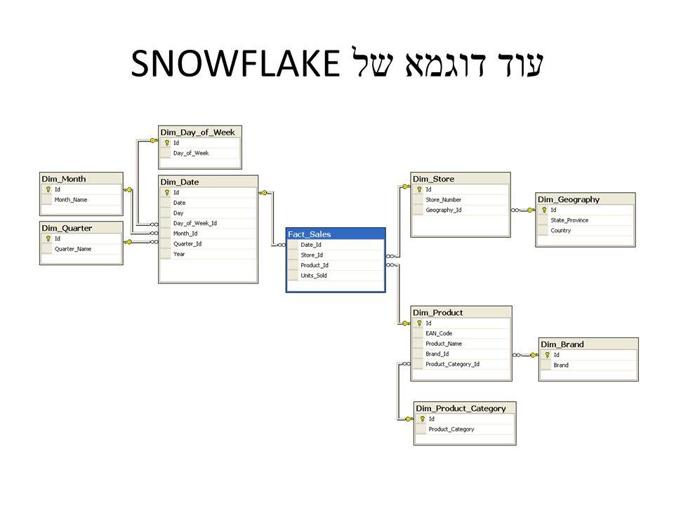 עוד דוגמא של SNOWFLAKE