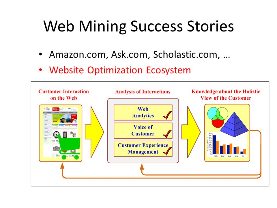 Web Mining Success Stories
