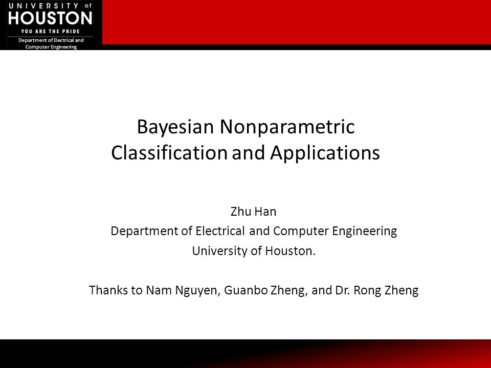 Bayesian Nonparametric Classification and Applications