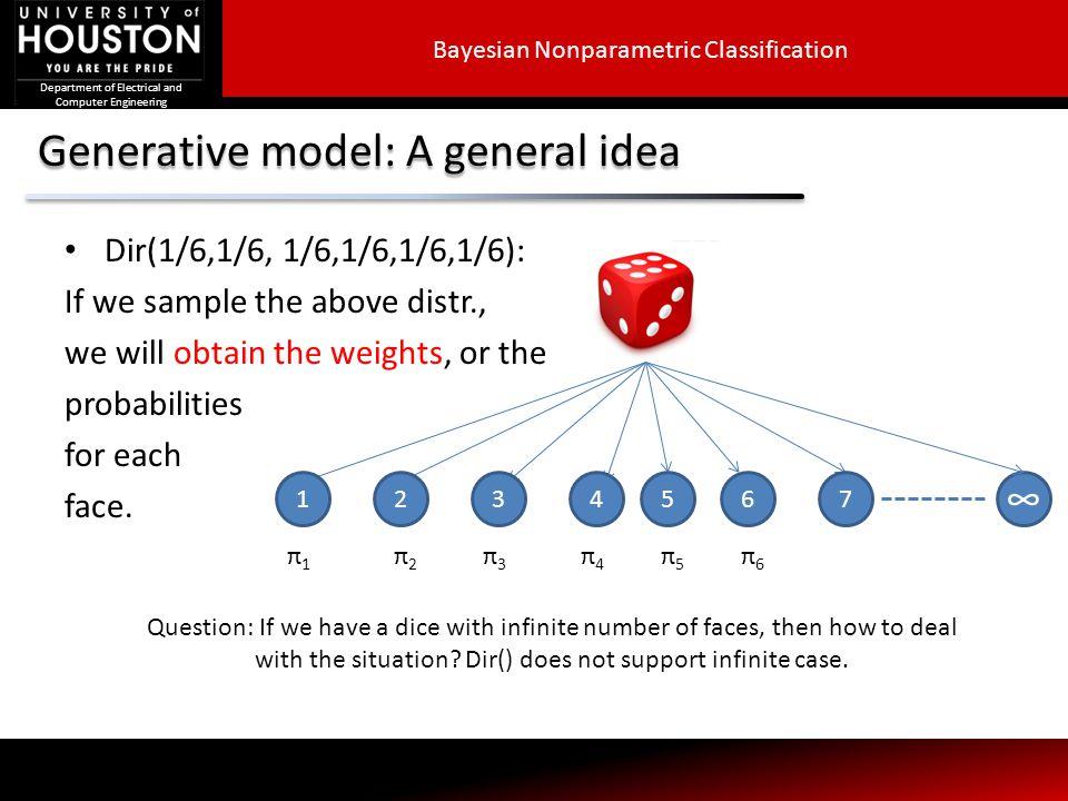 Generative model: A general idea
