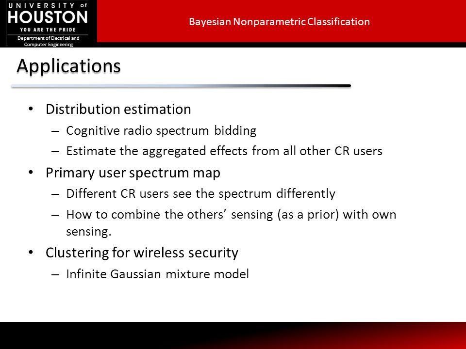 Bayesian Nonparametric Classification