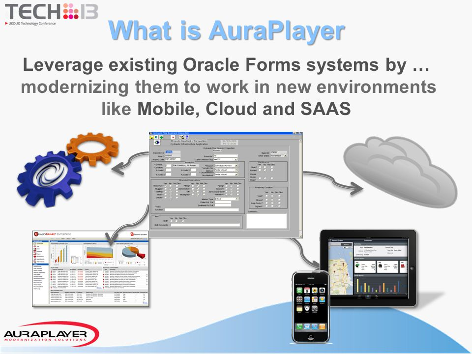 Leverage existing Oracle Forms systems by …