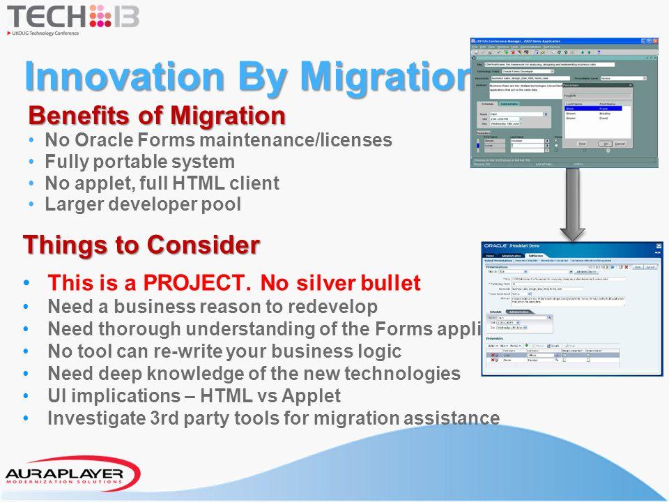 Innovation By Migration