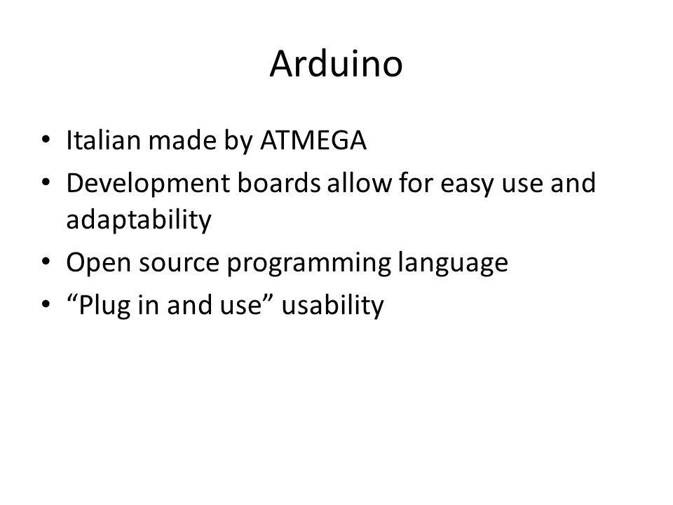 Arduino Italian made by ATMEGA